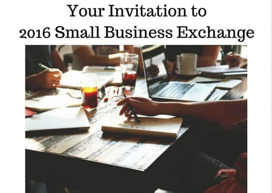 2016 Small Business Exchange